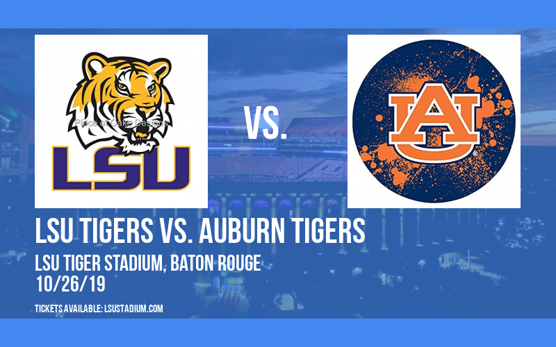 LSU Tigers vs. Auburn Tigers at LSU Tiger Stadium