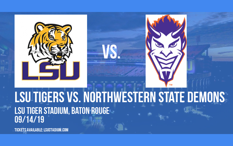 PARKING: LSU Tigers vs. Northwestern State Demons at LSU Tiger Stadium