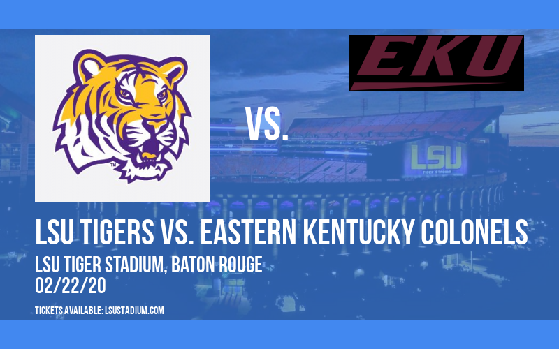 LSU Tigers vs. Eastern Kentucky Colonels at LSU Tiger Stadium