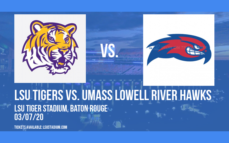 LSU Tigers vs. UMass Lowell River Hawks at LSU Tiger Stadium
