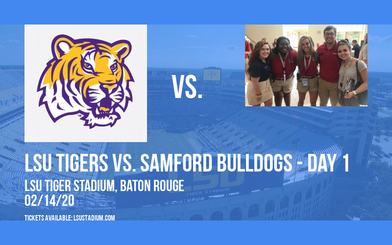 LSU Softball Invitational: LSU Tigers vs. Samford Bulldogs - Day 1 at LSU Tiger Stadium