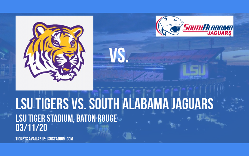 LSU Tigers vs. South Alabama Jaguars at LSU Tiger Stadium