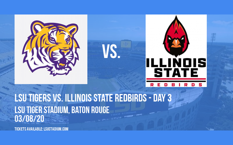 LSU Round Robin Softball: LSU Tigers vs. Illinois State Redbirds - Day 3 at LSU Tiger Stadium
