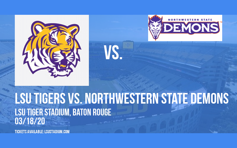 LSU Tigers vs. Northwestern State Demons at LSU Tiger Stadium