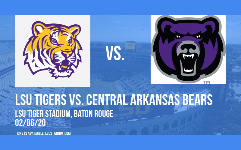 LSU Tigers vs. Central Arkansas Bears at LSU Tiger Stadium
