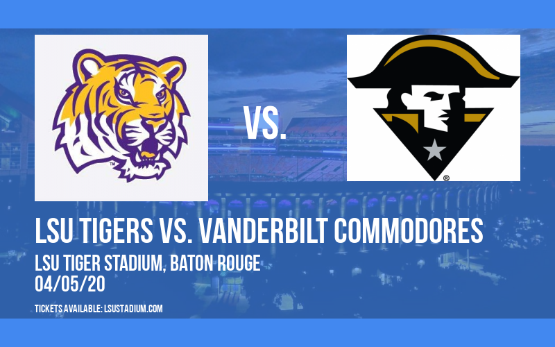 LSU Tigers vs. Vanderbilt Commodores at LSU Tiger Stadium