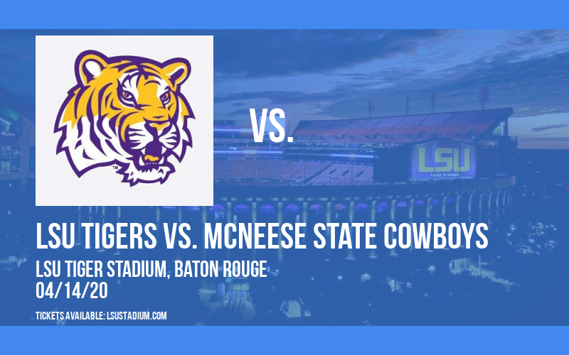 LSU Tigers vs. McNeese State Cowboys at LSU Tiger Stadium