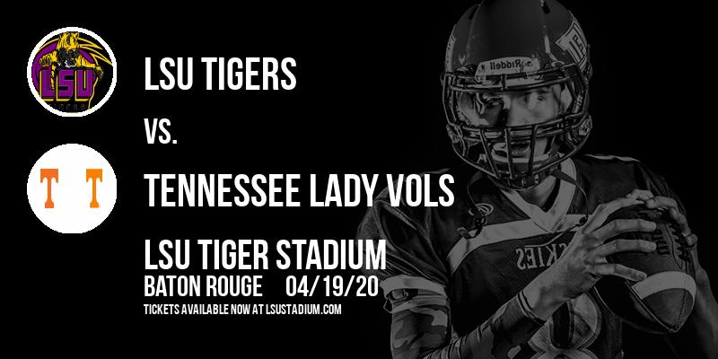 LSU Tigers vs. Tennessee Lady Vols at LSU Tiger Stadium