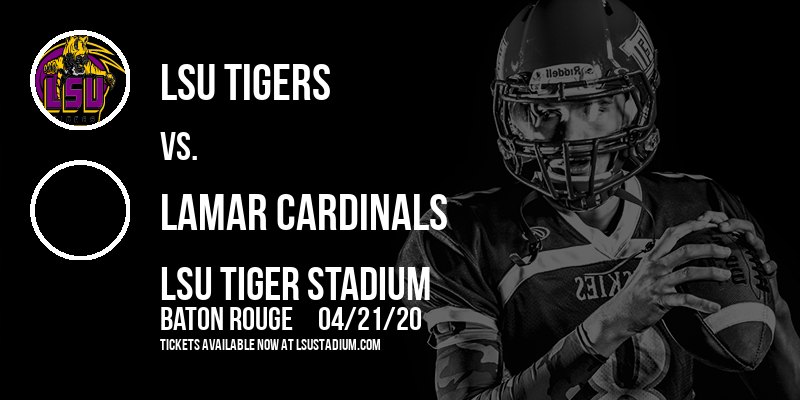 LSU Tigers vs. Lamar Cardinals at LSU Tiger Stadium