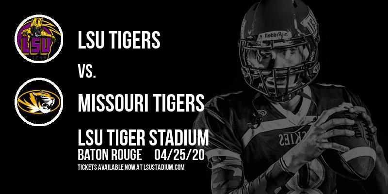 LSU Tigers vs. Missouri Tigers at LSU Tiger Stadium