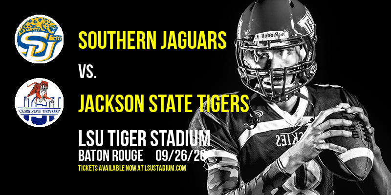 Southern Jaguars vs. Jackson State Tigers at LSU Tiger Stadium