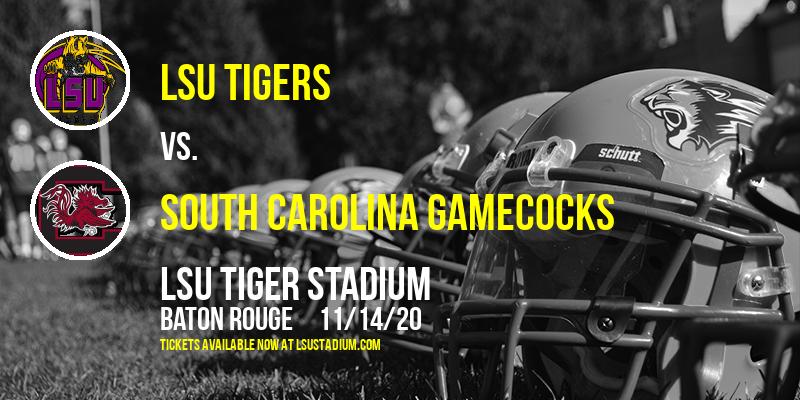 LSU Tigers vs. South Carolina Gamecocks at LSU Tiger Stadium
