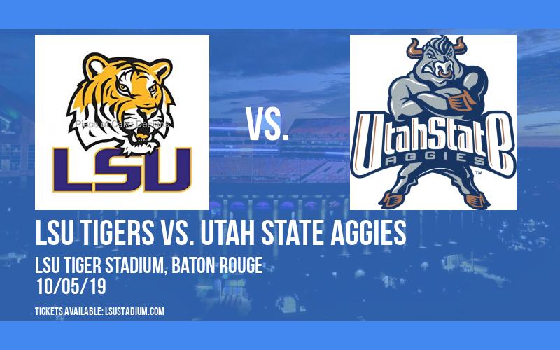 PARKING: LSU Tigers vs. Utah State Aggies at LSU Tiger Stadium
