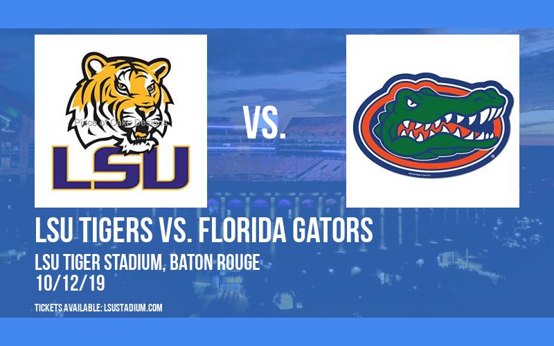 PARKING: LSU Tigers vs. Florida Gators at LSU Tiger Stadium