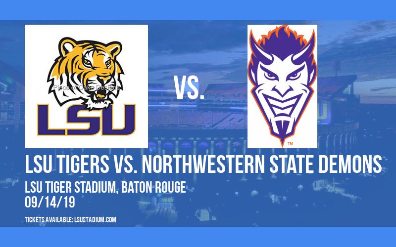 PARKING: LSU Tigers vs. Northwestern State Demons at LSU Tiger Stadium
