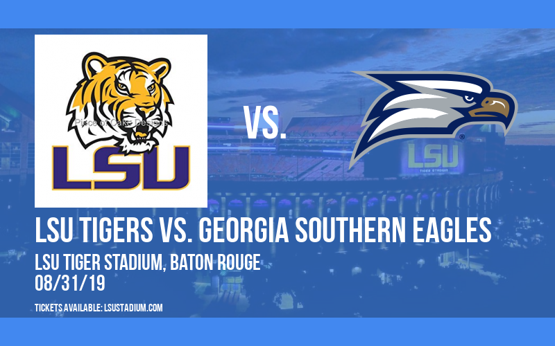 LSU Tigers vs. Georgia Southern Eagles at LSU Tiger Stadium