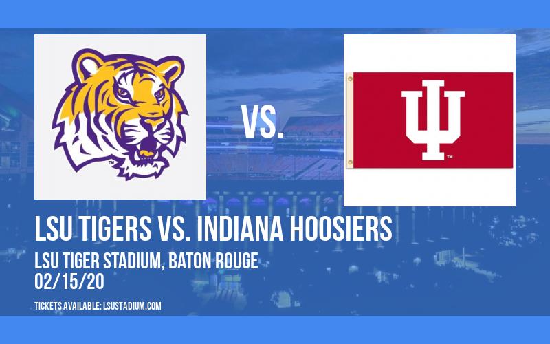 LSU Tigers vs. Indiana Hoosiers at LSU Tiger Stadium