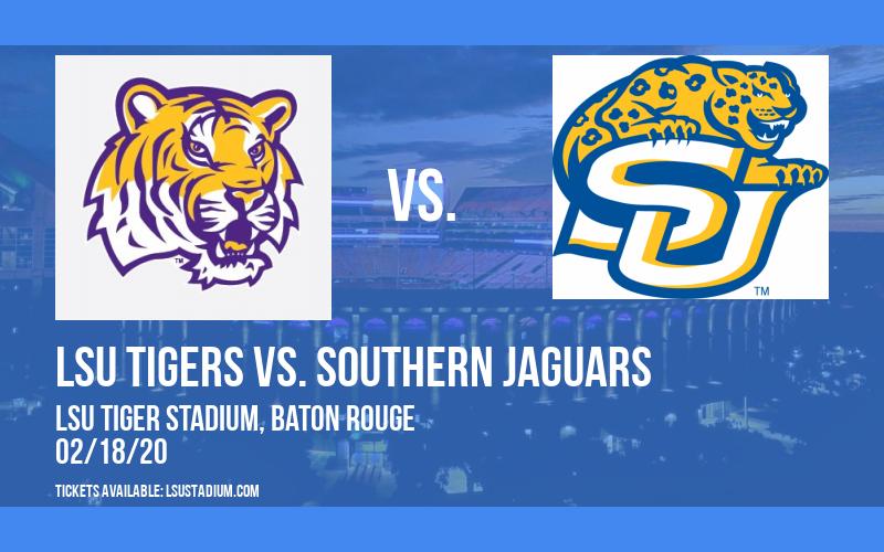 LSU Tigers vs. Southern Jaguars at LSU Tiger Stadium