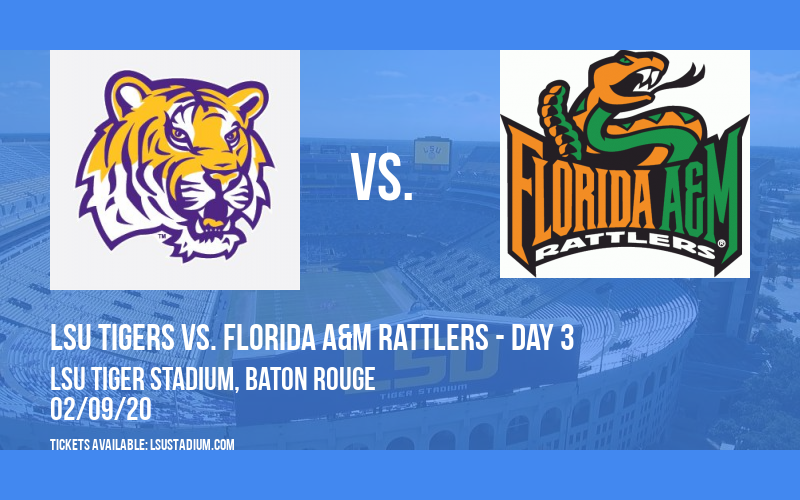 LSU Tiger Classic: LSU Tigers vs. Florida A&M Rattlers - Day 3 at LSU Tiger Stadium