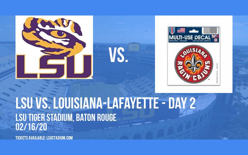 LSU Softball Invitational: LSU vs. North Dakota & LSU vs. Louisiana-Lafayette - Day 2 at LSU Tiger Stadium