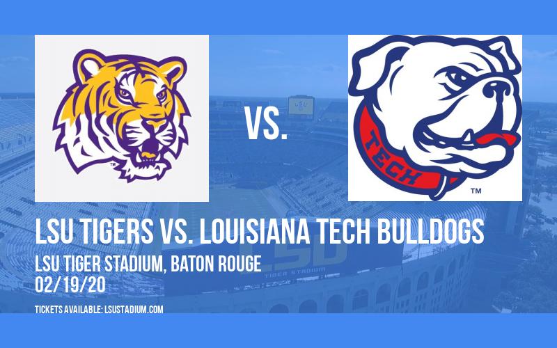 LSU Tigers vs. Louisiana Tech Bulldogs at LSU Tiger Stadium
