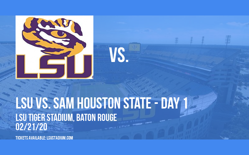 Purple & Gold Challenge: LSU vs. Belmont & LSU vs. Sam Houston State - Day 1 at LSU Tiger Stadium