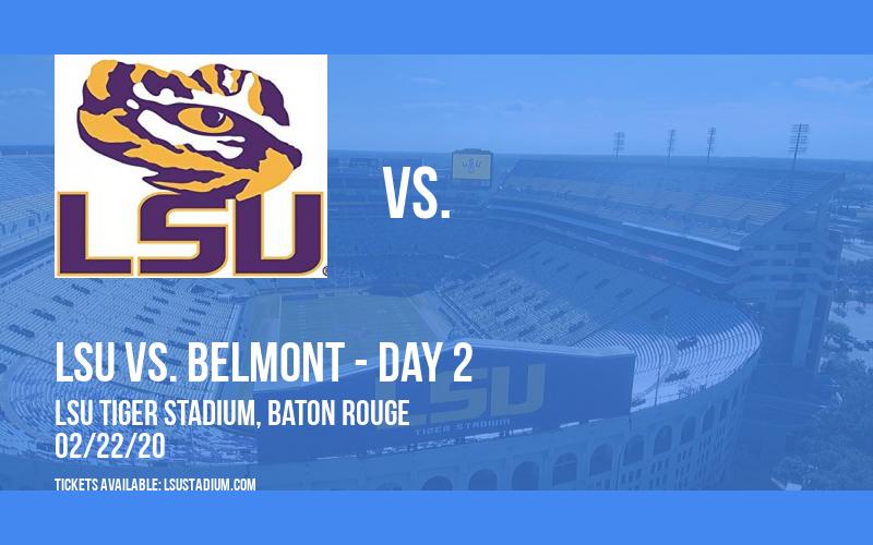 Purple & Gold Challenge: LSU vs. Sam Houston State & LSU vs. Belmont - Day 2 at LSU Tiger Stadium