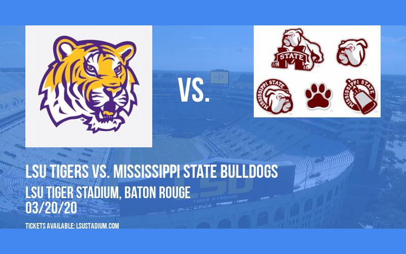 LSU Tigers vs. Mississippi State Bulldogs at LSU Tiger Stadium