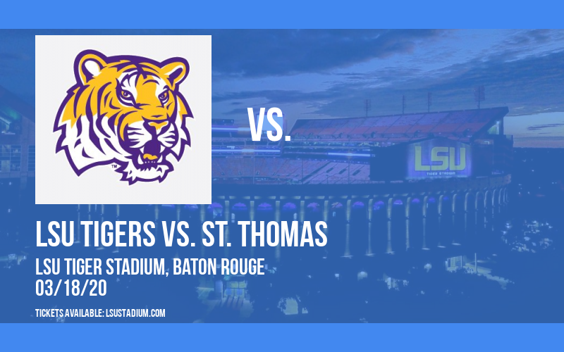 LSU Tigers vs. St. Thomas (Fla.) Bobcats at LSU Tiger Stadium