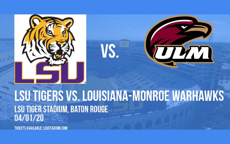 LSU Tigers vs. Louisiana-Monroe Warhawks at LSU Tiger Stadium
