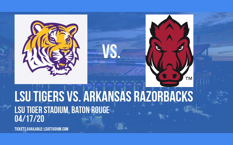 LSU Tigers vs. Arkansas Razorbacks at LSU Tiger Stadium