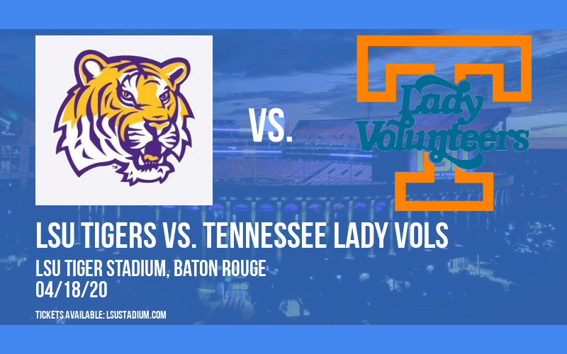 LSU Tigers vs. Tennessee Lady Vols at LSU Tiger Stadium