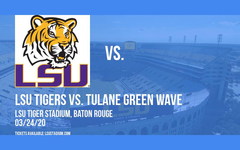 LSU Tigers vs. Tulane Green Wave at LSU Tiger Stadium