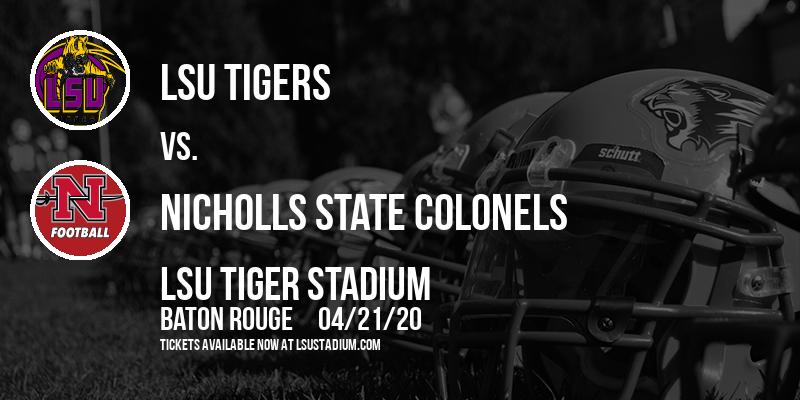 LSU Tigers vs. Nicholls State Colonels at LSU Tiger Stadium