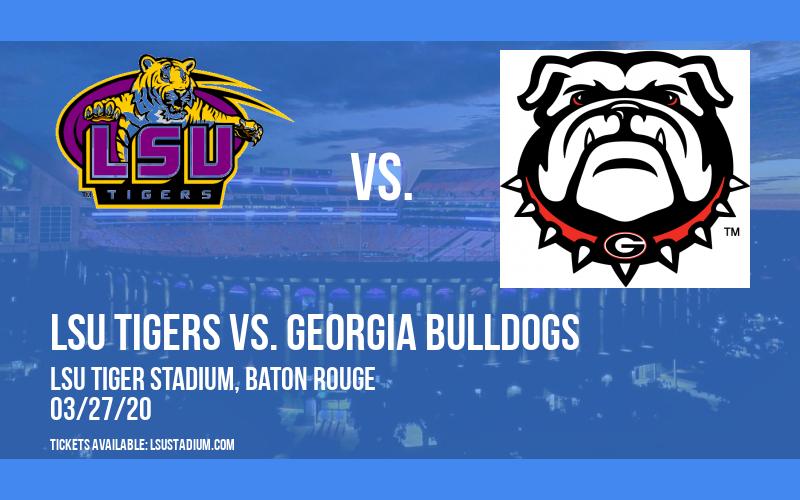 LSU Tigers vs. Georgia Bulldogs at LSU Tiger Stadium