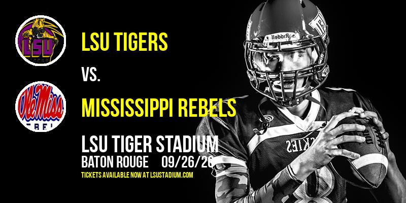LSU Tigers vs. Mississippi Rebels Tickets | 5th December ...